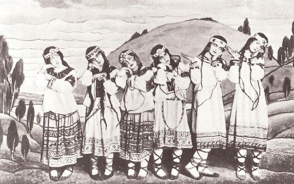 Le Sacre du Printemps Kostuums - Nicholas Roerich