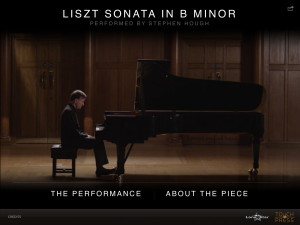The Liszt Sonata