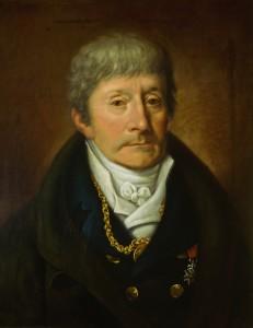 Antonio Salieri door Joseph Willibrod Mähler