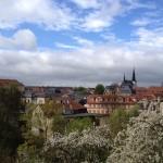 Uitzicht op Weimar